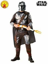 Licensed Star Wars Deluxe Adult Mandalorian Movie Theme Costume