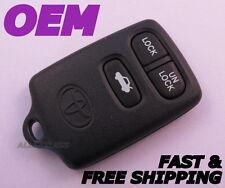 Original TOYOTA AVALON keyless entry remote fob transmitter clicker GQ43VT7T OEM