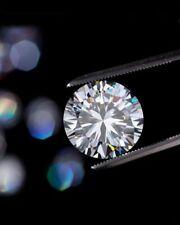 6mm 0.80 Carat Round Cut Diamond VVS1/D White Lab Created Loose Diamond