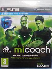 ADIDAS MICOACH.JUEGO ENTRENAMIENTO PS3.REQUIERE PS MOVE Y CÁMARA. NUEVO,PRECINT.