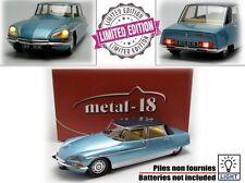 METAL 18 1/18 CITROEN DS 21 Chapron Lorraine - 1969 180106 - 18003BLUE