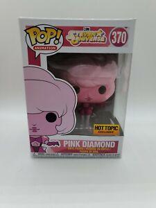 Funko Pop - Hot Topic Exclusive - Steven Universe Pink Diamond #370 Read Desc.