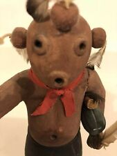 Vintage Hopi Koyemsi The  Mud Head Clown Kachina circa 1940- 1950