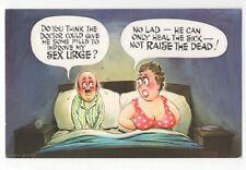 Pills To Improve Sex Urge Bamforth Comic Postcard 923b