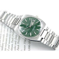 Vintage Omega Seamaster Automatic Day Date Green 1020 Cal Custom Dial Mens Watch