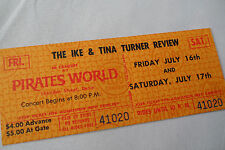 Ike & Tina Turner_Original_1971_Unus ed_Concert Ticket_Nm-