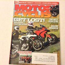 Motor Cyclist Magazine BMW R1200GS Ducati Multistrada December 2010 061517nonrh