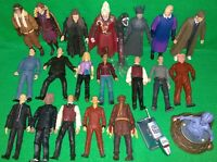DOCTOR WHO Action Figure Lot x22 - Rose Martha K9 Tennant Eccleston Jack - Used
