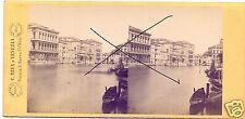 19566/ Stereofoto 9x17,5cm, C. Naya, Piazza S. Marco, Venedig, ca. 1870