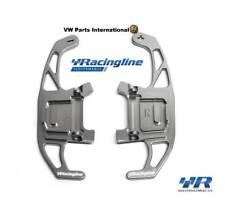 VW Golf MK7 GTI R Volkswagen Racing CNC Billet Titanio Plata Dsg Cambio Paletas
