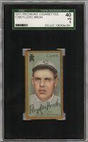 1911 T205 Gold Border Floyd M. Kroh Piedmont Chicago SGC 40 / 3 VG
