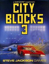 CAR WARS CITY BLOCKS 3 SEALED NEW Supplement Shrink Wrap Steve Jackson Games