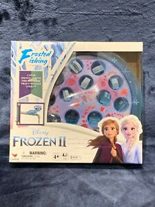 Disney Frozen 2 Frosted Fishing Game For Kids And Families Brand NEW Sealed