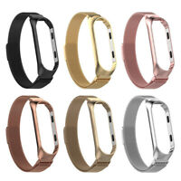 For Xiaomi Mi 3 4 Watch Band Milanese Magnetic Loop Stainless Steel Wrist Strap