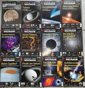Sterne und Weltraum kompletter Jahrgang 2017