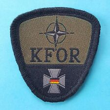 GERMAN GERMANY Military Army Flag NATO KFOR Sleeve Badge Patch