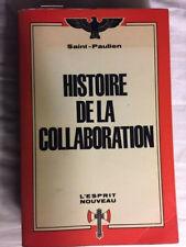 HISTOIRE DE LA COLLABORATION -  SAINT-PAULIEN - Bon état