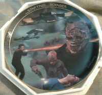 Low # 0250A The VIDIIANS Star Trek Voyager Episode Collector Plate by Hamilton