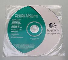 LOGITECH MouseWare CD 9.42.1 (Windows) M4.0.2 (Mac Os) ORIGINALE