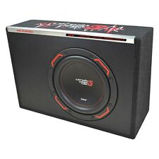 "Cerwin Vega H6TE10SV 300 Watt Slim Powered Enclosure 10"" Subwoofer Amplified Box"