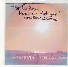 (DK435) Bear Driver, The Only Way To Swim - DJ CD