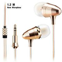 Super Bass In-Ear Kopfhörer KZ X6 Gold High-End Earphones Headphones PU Case