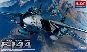 Academy 12471 F-14A U.S. Swing Wing Fighter