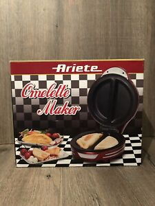 Ariete Omelette Maker 182 Party Time  700W Red Boxed Brand New