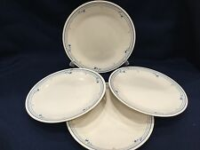 Set of 4  Corelle COUNTRY VIOLETS  Dinner Plates 10 1/4