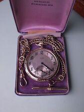 Vintage Antique Elgin 12s pocket watch *serviced*