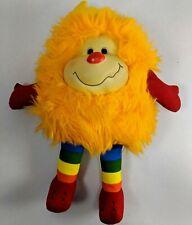 """Vintage Hallmark 1983 Rainbow Brite Plush Sprite Friend 12"""" Toy Orange figure"""
