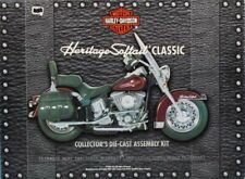 Franklin Mint Harley Davidson Motorcycle Heritage Softail Classic Diecast Model