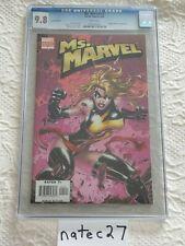 Ms. Marvel #1 2006 Turner Color 1:15 Variant! CGC 9.8! WP No Reserve!