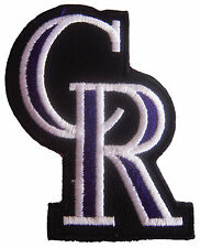 New MLB Colorado Rockies logo embroidered iron on patch. 2.25 x 3 inch (IB23)