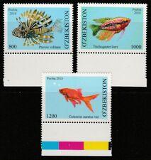 More details for uzbekistan - 2010 aquarium fish mnh set & miniature sheet