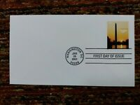 U.S. FDC #3473 - THE WASHINGTON MONUMENT EXPRESS MAIL STAMP $12.25