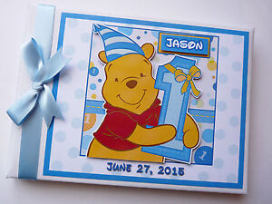 Winnie the Pooh First Birthday Guest book, Winnie the Pooh Album