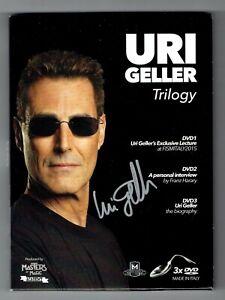 LAST ONE !!! - Uri Geller Trilogy (Signed Box Set) by Uri Geller