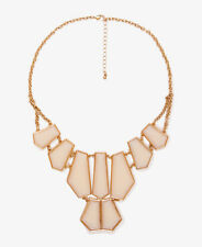 F21 Forever21 Angular Gemstone Necklace