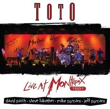 TOTO - LIVE AT MONTREUX 1991   CD NEUF