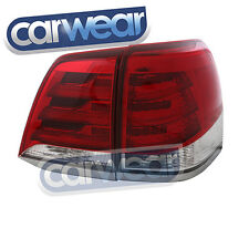 TOYOTA LAND CRUISER 200 SERIES 13-15 CLEAR RED LED TAIL LIGHTS