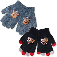 Paw Patrol Warm Jungen Marshall Chase Winter Acryl Magic Handschuhe Set Von 2