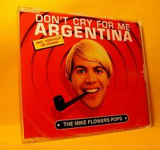 MAXI Single CD Mike Flowers Pops Don't Cry For Me Argentina 3TR + Video 1997 Pop
