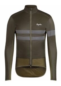 Rapha Brevet Insulated Jacket Dark Olive BNWT Size M