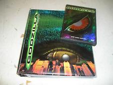1998 INKWORKS GODZILLA MASTER SET, BINDER CARDS CHASE SETS POCKETS + DVD TOO!!!