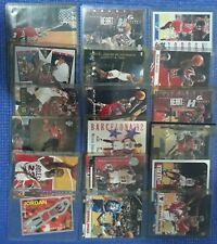 Michael Jordan 80 Base Inserts Card Lot UD Fleer Hoops Chicago Bulls Last Dance