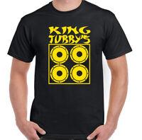King Tubby T-Shirt Mens Tubby's Tribute Top Ska Dub Reggae Music Bob Marley