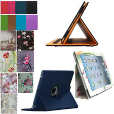 Smart Case Cover Stand Pocket Folio Rotating 2012 iPad 3/3rd 4/4th Generation