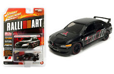 Johnny Lightning Mitsubishi Lancer Evo 2004 Ralliart Black JLCP7168 1/64