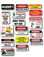 16pk Mexican Hard Hat Funny Joke Decal Sticker 3M Toolbox Welder Helmet Toolbox